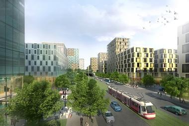 Vizualizace Žižkov City
