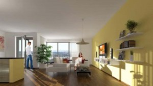 Rezidence Korunní je určena náročným klientům, kteří preferují luxusní byty s velkorysou podlahovou plochou.