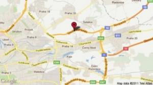 Vysočanská radiála_mapa
