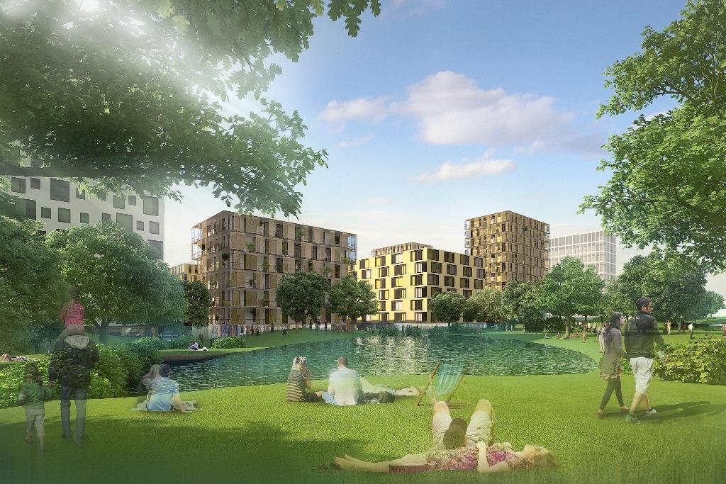 Žižkov City - Projekt revitalizace Nákladového nádraží Žižkov
