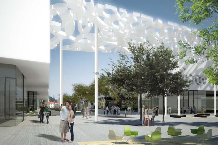 Smíchov City - Projekt revitalizace smíchovského nákladového nádraží